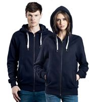EarthPositive EP60Z unisex Organic Zip Up Hoody
