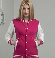Just Hoods Baseball Varsity Jacket
