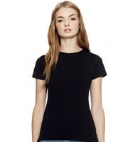 Continental Clothing Womens Slim-Fit Jersey T-Shirt