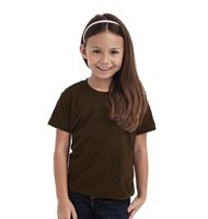 Hanes Junior Tagless Crew Neck T Organic