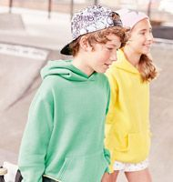 Russell 575B Kids Hooded Sweat