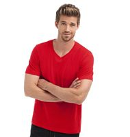 Hanes Men's Tagless V-Neck T Organic H7032