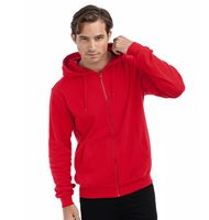 Hanes Men's Tagless Zipped Hoodie Organic H7532