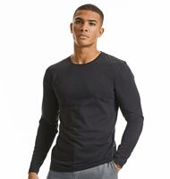 Russell 100M Pure Organic Long Sleeve T
