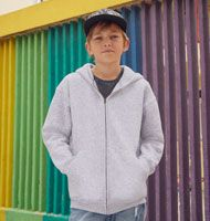 Kids Hooded Zip