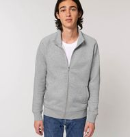 Stanley Trailer - The men's high collar zip-thru sweatshirt
