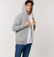 Warmer Sherpa - The unisex sherpa lined zip-thru hoodie sweatshirt