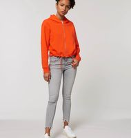 Stella Boxer - The women's cropped zip-thru hoodie sweatshirt