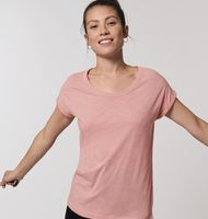 Stella Rounder Slub - The women's rolled sleeve slub t-shirt