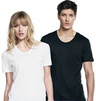 Continental Clothing Unisex Scooped Neck Shirt