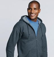 Gildan Heavyweight Full Zip Hooded Sweat Gildan 18600