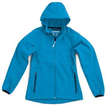 AVORIAZ Hooded Softshell Jacket  --- no more available