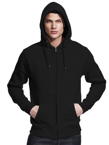 Continental Clothing High Neck Zip-Up Hoody
