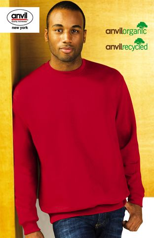 Anvil Sustainable Recycled Crew-Neck Sweat