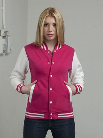 Just Hoods Varsity Jacket