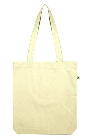 Continental Clothing SALVAGE Woven Twill Recycled Shopper Tote Bag