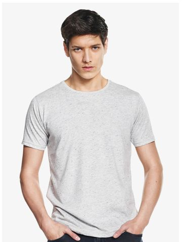 Continental Clothing Men's Speckled Jersey T-shirt