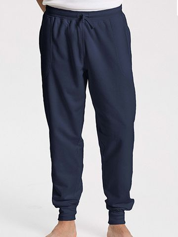 Neutral Sweatpants with Cuff and Zip Pocket