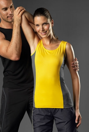 Women's Tagless Contrast Tank Top H7820