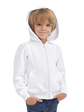 Hanes Junior Tagless Zipped Hoodie Organic H7230