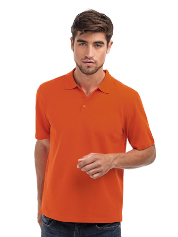 Hanes Men's Tagless Polo Organic H7330