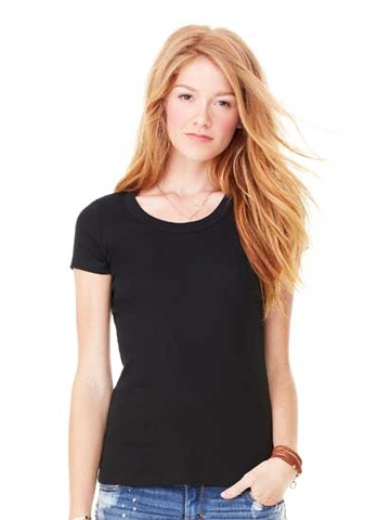 Bella Scoop Neck T-Shirt 1003