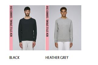 Stanley Suits Heavy piqué sweatshirt: Colors