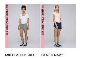 Stella Cuts Jogging shorts: Colors